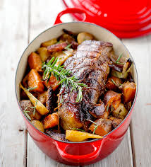 trussed beef pot roast with autumn vegetables le creuset recipes