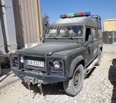 military land rover 110 military police