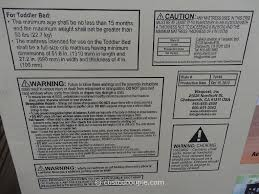 Convertible Crib Instructions by Cafe Kid Morgan Convertible 4 In 1 Crib