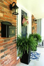 Front Porch Planter Ideas by 130 Best Front Porch Images On Pinterest Gardening Flowers And Home