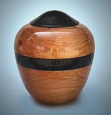 wooden urns for ashes handmade cherry companion cremation wooden urn handmade