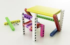 Lego Furniture For Kids Rooms by Olla Kidsfurniture Fits Together Like Giant Lego Blocks To Create