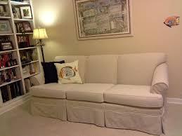 custom slipcovers for sofas dropcloth slip covers marge s custom slipcovers