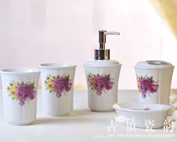 Red Bathroom Accessories Sets by Online Get Cheap Yellow Bathroom Set Aliexpress Com Alibaba Group