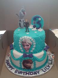 frozen birthday cake 2 tier elsa and frozen themed birthday cake cakecentral