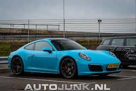 miami blue porsche 718 miami blue carrera 4s foto u0027s autojunk nl 188651