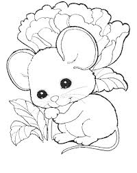 coloring excellent coloring mouse pages kids