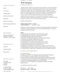 Graphic And Web Designer Resume Web Resume Examples Online Cv Homepage How To Create A Killer