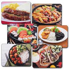 puzzle cuisine cultural food puzzle set set of 6