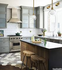 mixing metals how to update a brown kitchen by adding brass
