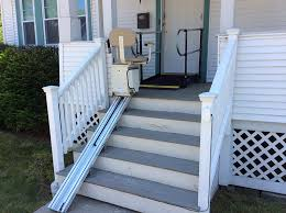 stair ramp home design ideas and pictures