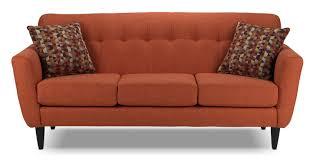 Leons Furniture Kitchener Cobra Sofa Orange S