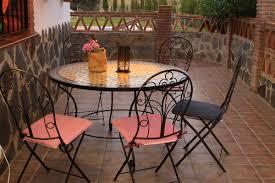 Outdoor Moroccan Furniture by Moroccan Mosaic Table Vilostrada