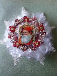 Christmas Decorations Angel Hair by Cherub Ball Inge Glass Old World Christmas 1993 1528 Paper