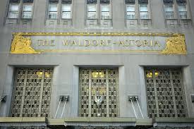 waldorf astoria owner pledges to save hotel u0027s art deco interiors