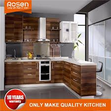 what to do with brown kitchen cabinets china design new brown cherry wood veneer modern kitchen