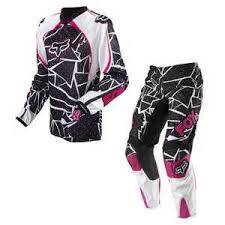 bike riding gear pink rinestonedirt bike riding gear fox racing dirt bike love