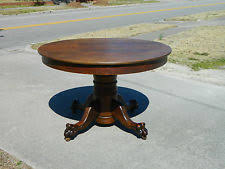 Antique Round Oak Pedestal Dining Table Perfect Decoration Oak Round Dining Table Terrific Solid Oak