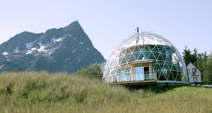 this family built their own eco house under a solar dome in the