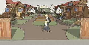 tiny houses embraced by city of eugene oregon emerald village project overview