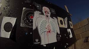 zombie blood shooting target youtube zombie blood shooting target