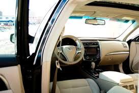 Nissan Altima Black Interior 2013 Nissan Altima 2 5 Sv Driven Review