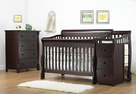 Baby Crib With Changing Table Sorelle Tuscany 4 In 1 Convertible Crib And Changer