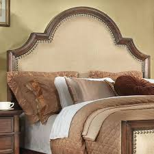 King Fabric Headboard Upholstered Headboard With Wood Trim For Fancy Headboards 42 About