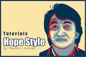 tutorial membuat scrapbook digital create the obama hope poster style in coreldraw cara membuat hope
