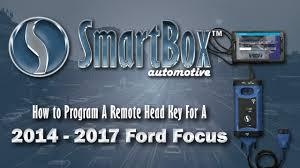 program ford focus key fob how to program a remote key to a 2014 2017 ford focus