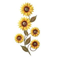 Sunflower Decorations Sunflower Living Room Decor Ideas We Love Color And Style