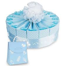 baby shower kits 1 tier baby shower favor cake kit it s a boy favor cake kits