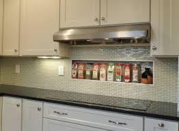 kitchen white glass tile backsplash backsplash design ideas