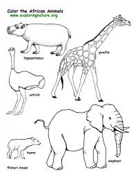 african savanna coloring pages aecost net aecost net
