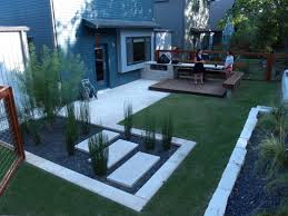 backyard landscapeeas living room alluring simple landscaping on