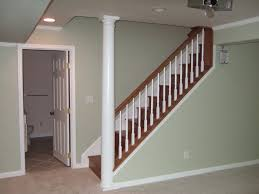 Painting Banisters Ideas Surprising Painted Basement Stairs Ideas Images Decoration Ideas