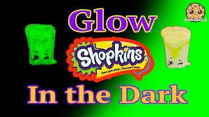 diy glow in the dark shopkins season 3 custom halloween inspired