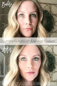 flawless 5 minute makeup with luminess air giveaway little