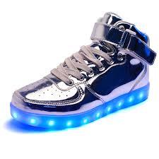 light up shoes for adults men men light up shoes mental gold for led shoes high tops