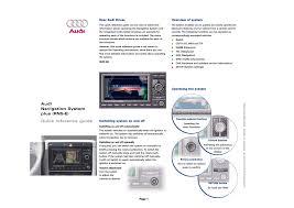 rns e audi audi navigation system plus rns e user manual 8 pages