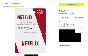 gift card offers when you buy a 60 gift card for netflix you ll get 10 in free