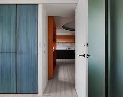 colorful home interior design for a french fashion designer in