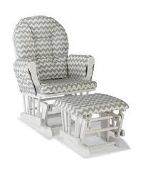 Baby Rocking Chair Walmart Amazon Com Stork Craft Custom Hoop Glider And Ottoman White Gray