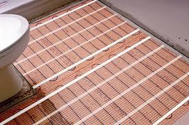 Herringbone Area Rug Amazing Warm Up Your Bathroom With Heated Floors In Floor Cost