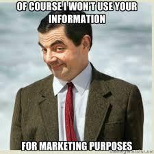 Meme Marketing - mr bean marketing trust honesty meme the lovestats blog