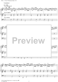 a song of thanksgiving sheet for piano and more
