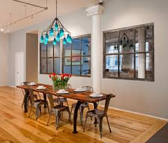 Types Of Dining Room Tables Hutch Dining Room With Industrial Window Mirrors Dining Room Decor