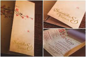 Cherry Blossom Wedding Invitations A Cherry Blossom Themed Invitation By Anshul Arora Wedding