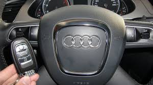 how to start an audi a4 2009 and others with ignition key how