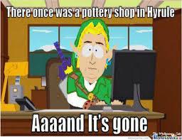Legend Of Zelda Memes - legend of zelda by anthonym meme center